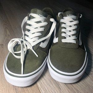 Vans Olive Green/Army Green Womens in 6.5 & 10
